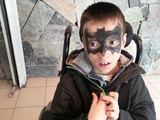 Un blog para Daniel, disfraz de Batman